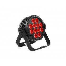 Projecteur LED rouge de matérialisation et délimitation zone à risques (danger, stockage, manutention, machine, etc.)