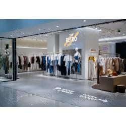 Signalétique PLV lumineuse boutique magasin