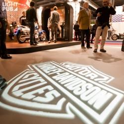 Projecteur logo lumineux salon et magasin