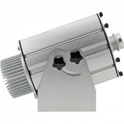 Projection logo lumineux via projecteur gobo extérieur LED