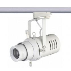 Projecteur cadreur LED sur rail découpe porte gobo pour signalétique   et publicité magasin