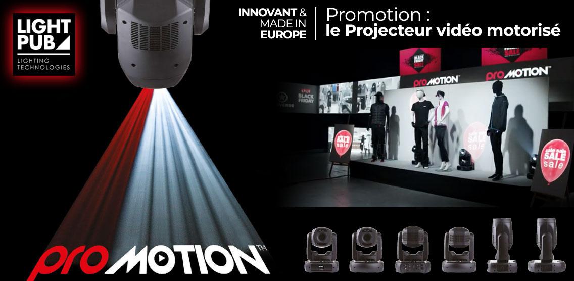 Lyre vidéo Robe lighting Promotion par Light Pub