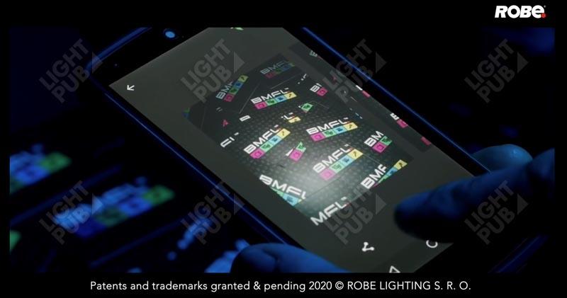 Lyre vidéo Robe lighting promotion